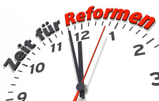 Ausgabe 05/18: Welche Reformen unsere Gemeinden vorschlagen